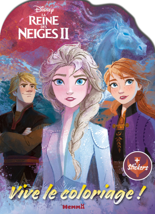 DISNEY LA REINE DES NEIGES 2 VIVE LE COLORIAGE !